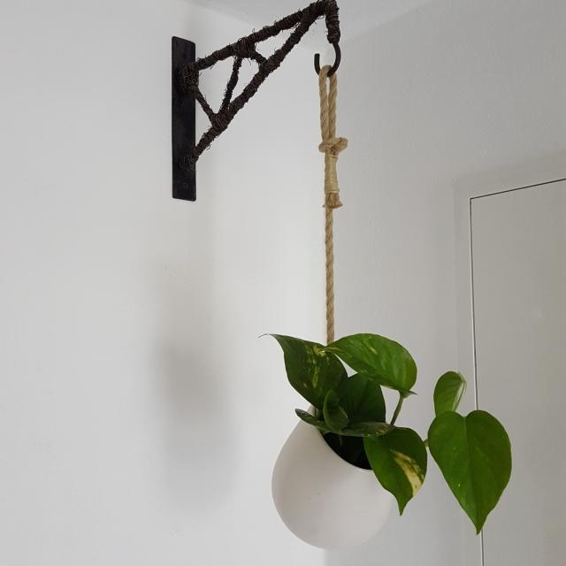 Handmade plan hanger